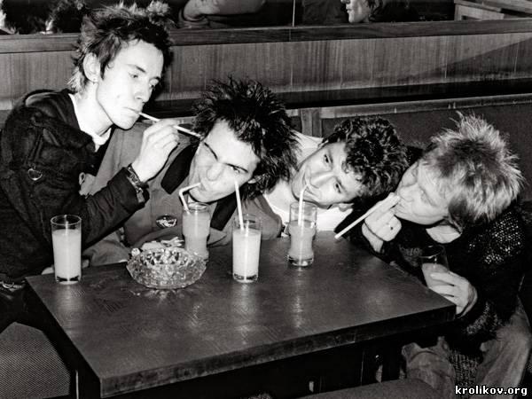 The Sex Pistols - фотогалерея смотреть онлайн в хорошем качестве бесплатно
